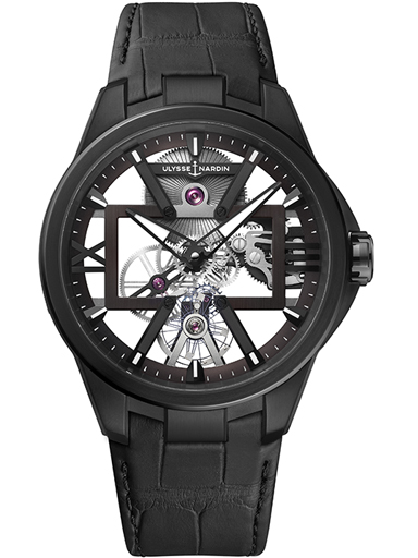 Ulysse Nardin Executive Skeleton X 42mm Men's Watch 3713-260/BLACK-3713-260/BLACK