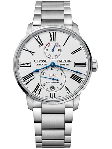 Ulysse Nardin Marine Chronometer Torpilleur Automatic Men's Watch-1183-310-7M/40