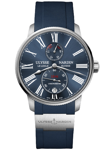 Ulysse Nardin Marine Chronometer Torpilleur 42mm Men's Watch 1183-310-3/43-1183-310-3/43