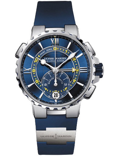 Ulysse Nardin Marine Regatta 44mm Men's Watch-1553-155-3/43
