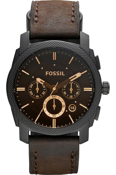Fossil Flight Round Analog Brown Dial Men's Watch-FS4656IE