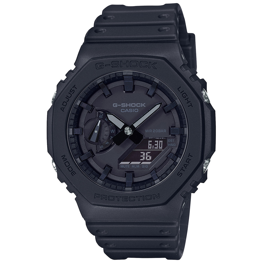 Casio G-Shock GA-2100-1A1DR (G987) Carbon Core Guard Men's Watch-G987