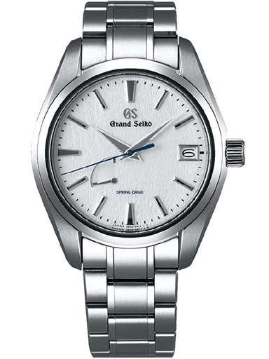 Grand Seiko Heritage Men Date Automatic Silver Dial Watch-SBGA211G