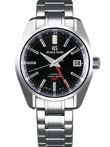 Grand Seiko Heritage Men Date Automatic Black Dial Watch-SBGJ203G