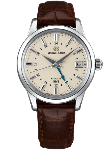 Grand Seiko Elegance Men Date Automatic Beige Dial Watch-SBGM221G