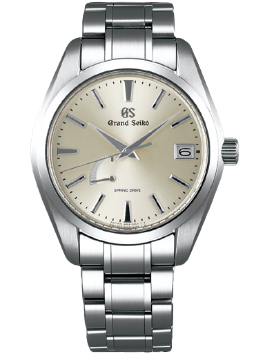 Grand Seiko Heritage Men Date Quartz Silver Dial Watch SBGA201G-SBGA201G