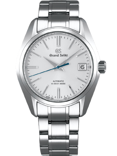 Grand Seiko 2017 Heritage Men Date Automatic Silver Dial Watch-SBGH201G