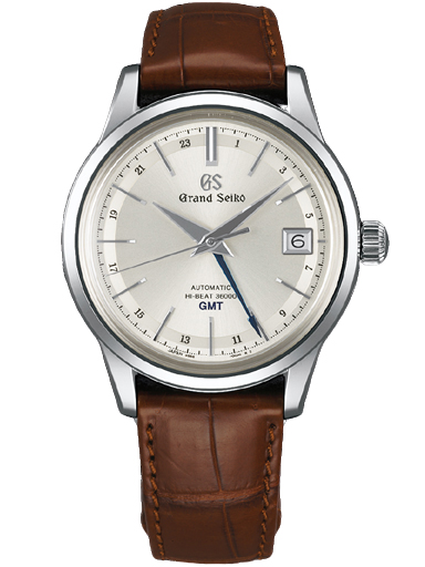 Grand Seiko Elegance Men Date Automatic Silver Dial Watch-SBGJ217G