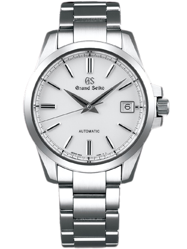 Grand Seiko Heritage Men Date Automatic White Dial Watch SBGR255G-SBGR255G