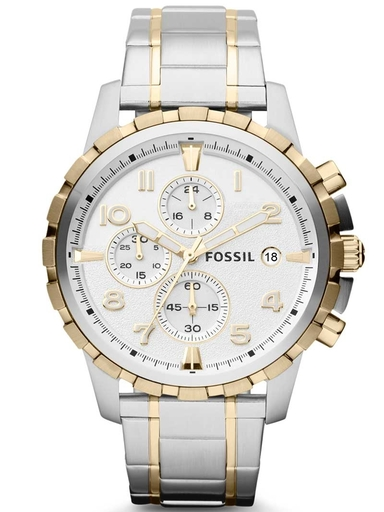 Fossil Dean Chronograph Stainless Steel Men Watch-FS4795I