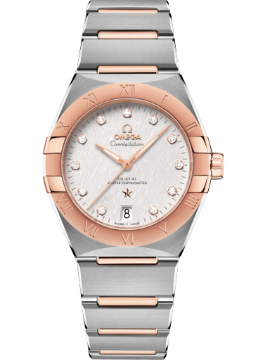 Omega Constellation Co-Axial Master Chronometer 36 mm Women's Watch O13120362052001-O13120362052001