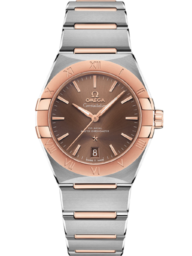 Omega Constellation Co-Axial Master Chronometer 36 mm Brown Dial Women's Watch-O13120362013001