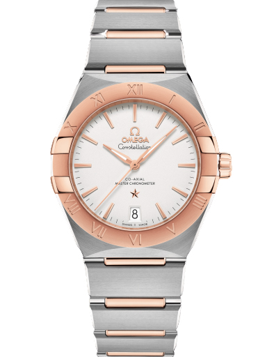 Omega Constellation Co-Axial Master Chronometer 36 mm Silver Dial Women's Watch-O13120362002001