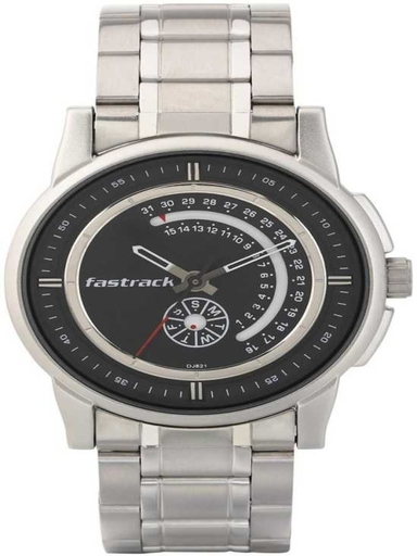 Fastrack Analog The Curve Men Watch-3215SM03