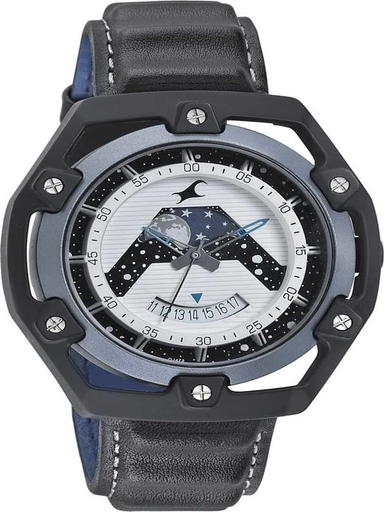 fastrack analog space view the space rover watch-3207KL01