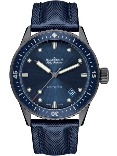 Blancpain Fifty Fathoms The First Modern Diver's Watch for Men's 5000 0240 O52A-N05000O00204NO52A