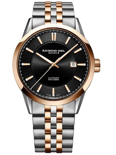Raymond Weil Freelancer Men's Automatic Classic Two-Tone Rose Gold 42 mm Watch-2731-SP5-20001