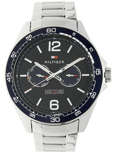 tommy hilfiger blue multi-function dial men's watch nbth1791366-NBTH1791366