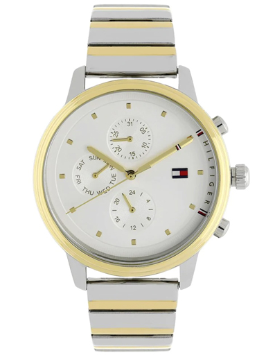 Tommy Hilfiger White Dial Multi-Coloured Stainless Steel Strap Women's Watch NBTH1781908-NBTH1781908