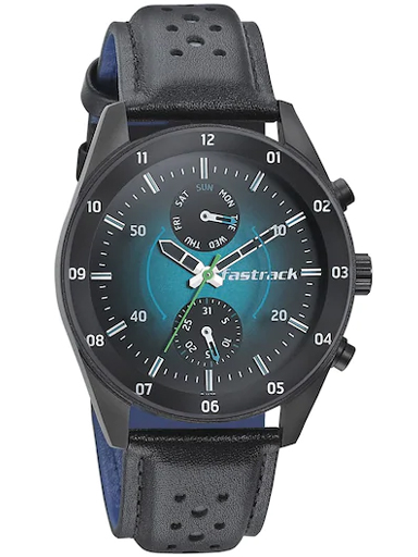 fastrack analog hud space rover men watch-3201NL01