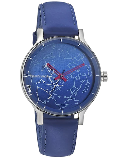 fastrack analog orion space rover blue dial watch-6192SL02