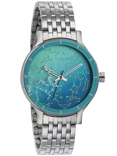 fastrack orion space rover blue dial metal watch-6192SM01