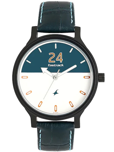 fastrack road trip analog multi-colour dial women's watch-6189NL01