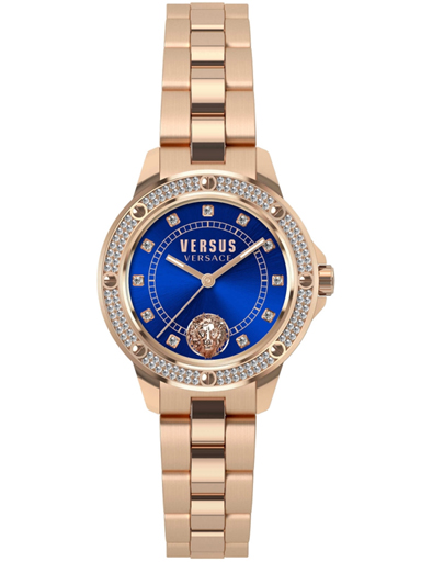 Versus Womens S.Horizons Crystal Blue Dial Steel Analogue Watch-S29050017