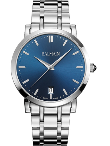 Balmain Laelia Gent Blue Dial Date Quartz Men's Watch-B4421.33.96