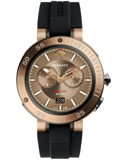 Versace V-extreme Brown Dial Men's Watch-VCN030017
