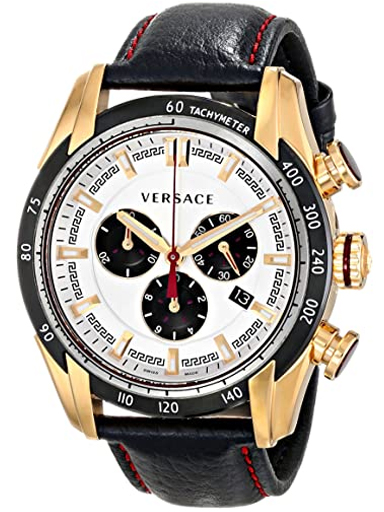 Versace Round Analog Silver Dial Men's Watch-VDB040014