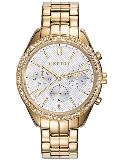 ESPRIT Multi-Function White Dial Watch For Women ES109232001-ES109232001