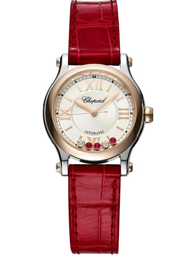 Chopard Happy Sport 30MM Automatic Women's Watch-278573-6026