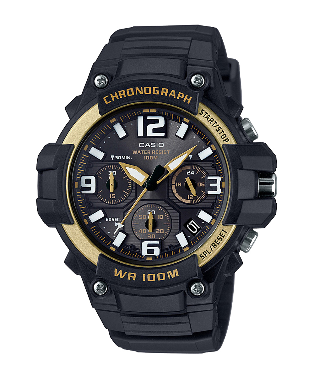 casio youth series mcw-100h-9a2vdf (ad215) chronograph watch-AD215