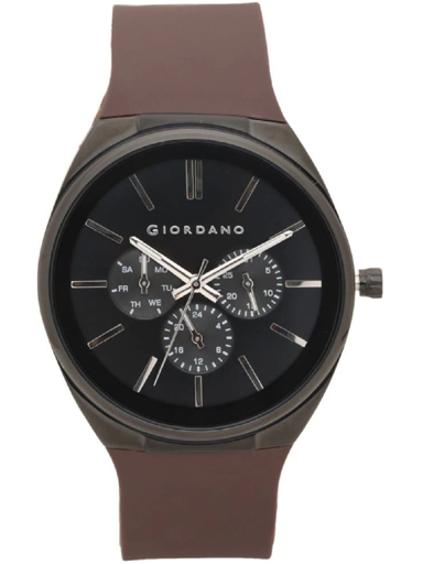 Giordano Multi-Function Black Dial Men's Watch 1841-02-1841-02