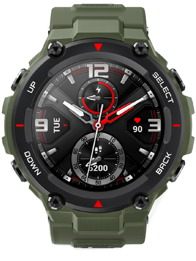 Amazfit T-Rex Army Green Watch-Amazfit T-Rex Army Green