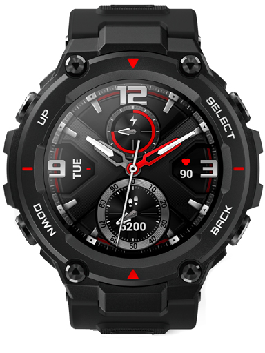 Amazfit T-Rex Rock Black Watch-Amazfit T-Rex Rock Black