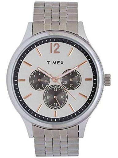 timex fashion silver dial men watch tweg18407-TWEG18407