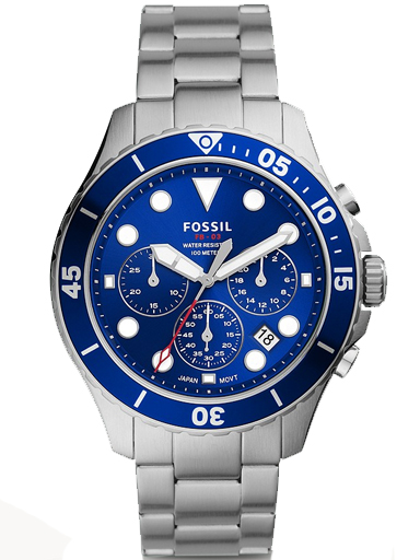 Fossil FB-03 Chronograph Stainless Steel Watch-FS5724I