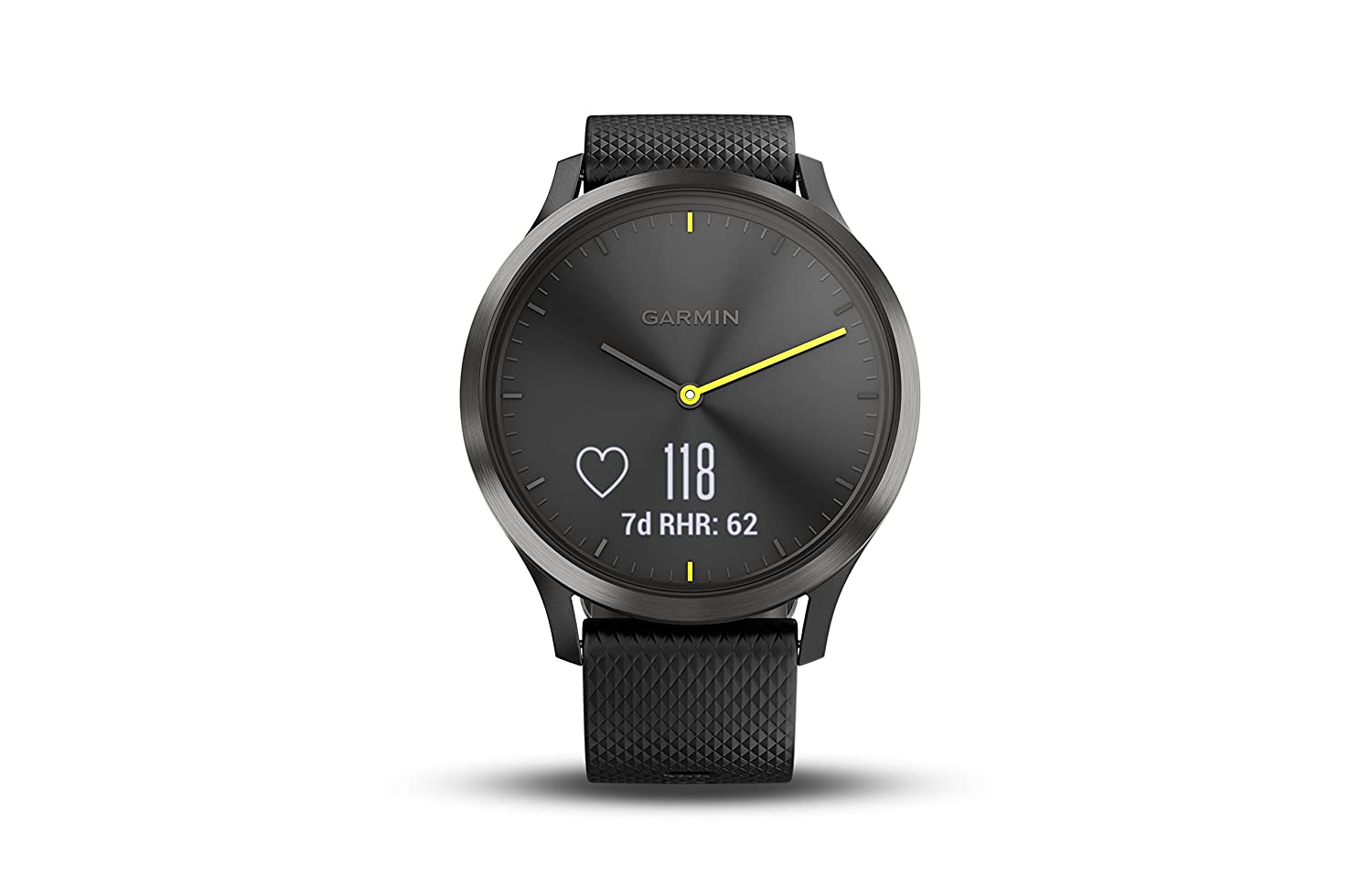 GARMIN VIVO -VIVOMOVE HR SPORT BLACKBLACK LARGE-Vivomove HR Sport Black/Black Large