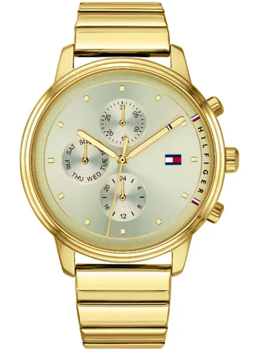Tommy Hilfiger Gold Dial Analog Watch For Women-NBTH1781905