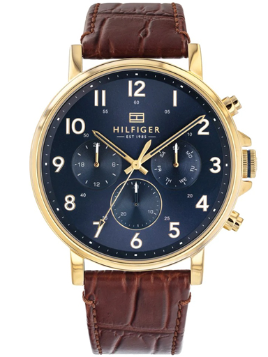 Tommy Hilfiger Analog Blue Dial Men's Watch-TH1710380