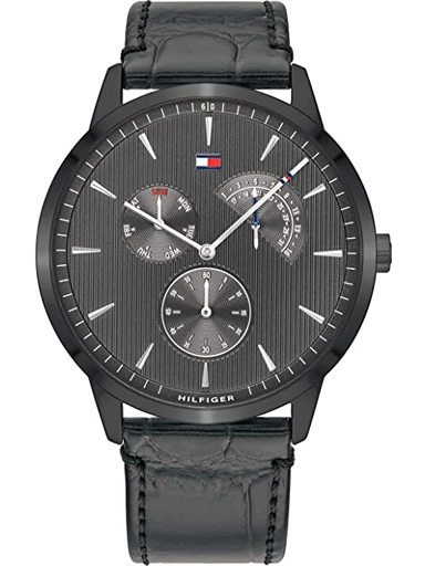 Tommy Hilfiger Analog Grey Dial Men's Watch-TH1710388