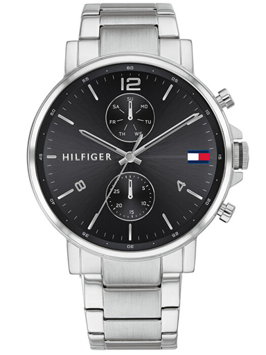 tommy hilfiger analog black dial men watch-TH1710413