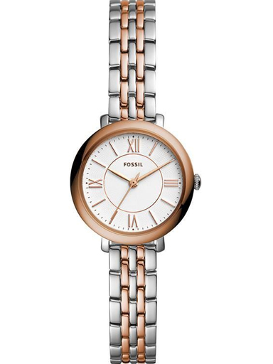 Fossil Jacqueline Mini Three-Hand Two-Tone Stainless Steel Watch-ES4612I