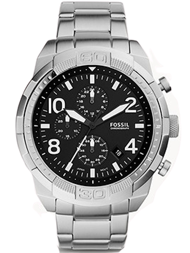 Fossil Bronson Chronograph Stainless Steel Watch-FS5710I