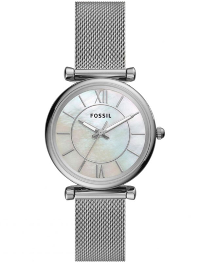 ES4919 Fossil Carlie Analog Mother of Pearl Dial Women's Watch-ES4919