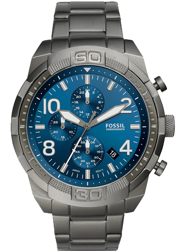 fs5711 fossil men's analogue quartz watch with stainless steel strap-FS5711