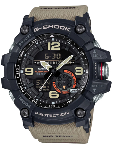 Casio G-Shock GG-1000-1A5DR (G661) Mud Master Men's Watch-G661