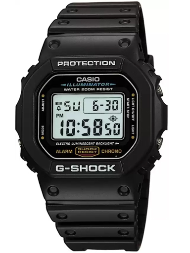 Casio G-Shock Origin Digital Black Dial Men's Watch-G001